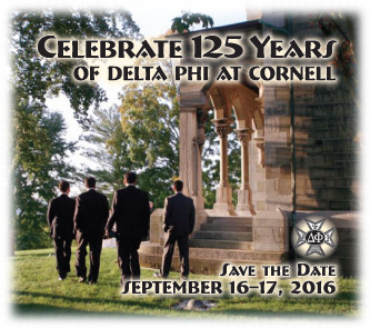 Celebrate 125 Years of Delta Phi at Cornell
